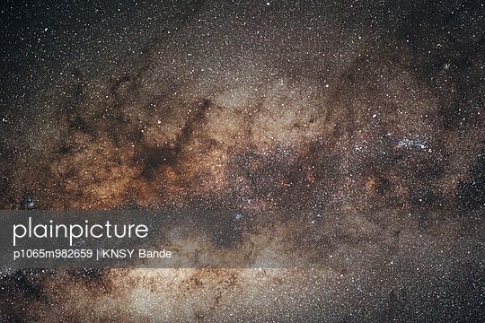 Sterne über der Kalahari, Südafrika - p1065m982659 von KNSY Bande