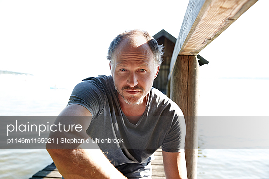 Portrait Mann - p1146m1165021 von Stephanie Uhlenbrock