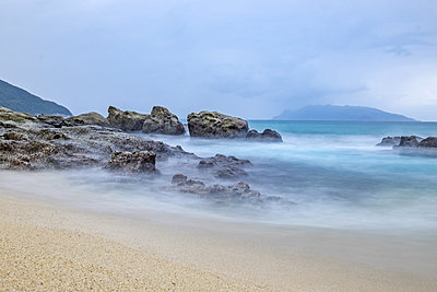 Yakushima beach, Japan - p1408m1465057 by Guy Nesher