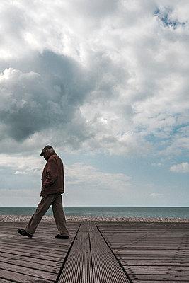 Lonely man - p1245m1069377 by Catherine Minala