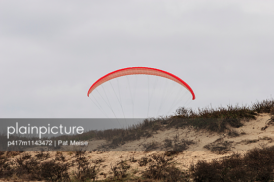 Paraglider - p417m1143472 by Pat Meise