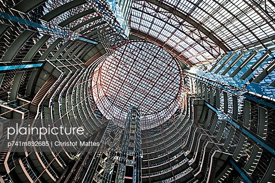 Gebäude in Chicago - p741m892685 von Christof Mattes
