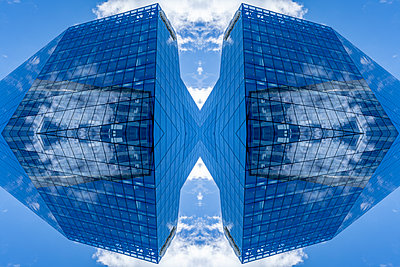 Abstract Architecture Kaleidoscope Boston - p401m2221894 by Frank Baquet