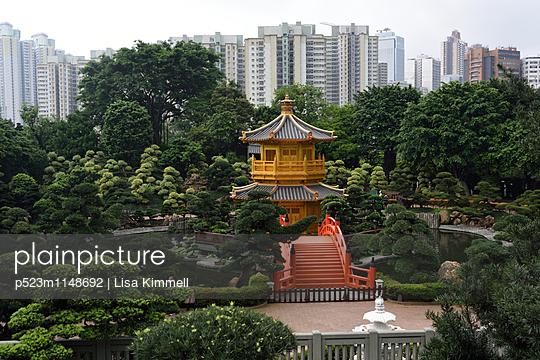 Tang Dynasty Style, Nan Lian Garden - p523m1148692 von Lisa Kimmell