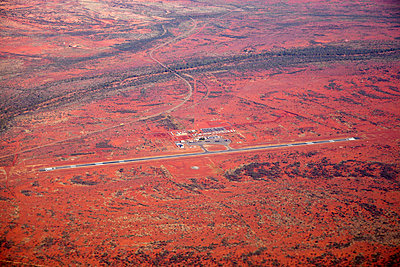 A remote airport, Newman, The Pilbara, Western Australia - p30120603f by Tobias Titz