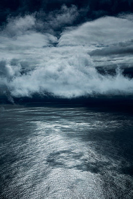 Clouds above the Atlantic ocean - p1032m903692 by Fuercho
