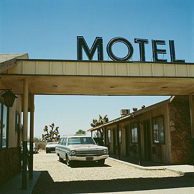 Motel in the desert - p8560025 by Pierre Baelen