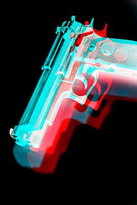 Hand gun, CGI - p975m2286088 by Hayden Verry