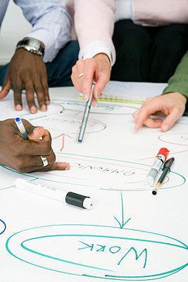 Brainstorming in an office Sweden. - p31218291f by Plattform