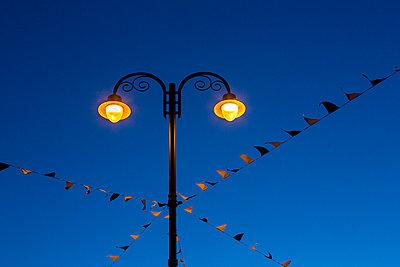 Street lamp - p1057m925371 by Stephen Shepherd