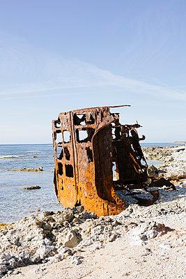 Schiffswrack - p1357m1223080 von Amadeus Waldner