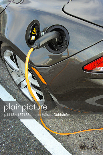 Elektroauto - p1418m1571334 von Jan Håkan Dahlström