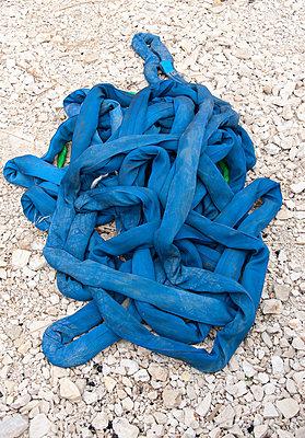 Blauer Gurt - p1079m880916 von Ulrich Mertens