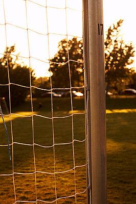 A soccer goal. - p31220947f by Magnus Ragnvid