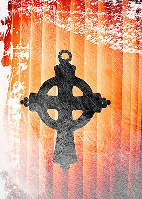 Keltisches Kreuz Effekte - p4500129 von Hanka Steidle