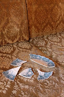 Broken plate - p045m853150 by Jasmin Sander
