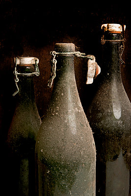 Old dirty bottles - p451m987492 by Anja Weber-Decker