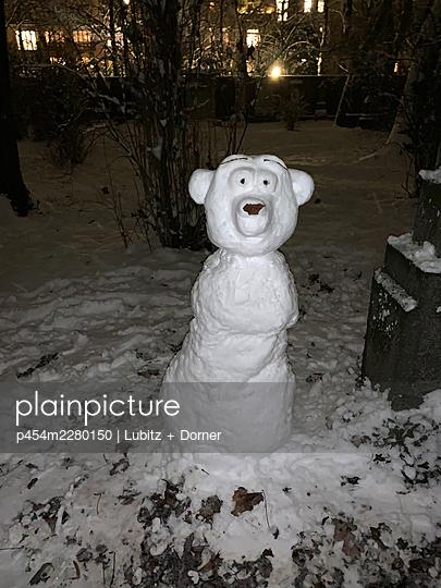 Surprised snowbear - p454m2280150 by Lubitz + Dorner
