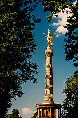Siegessäule im Tiergarten - p1493m1589481 von Alexander Mertsch