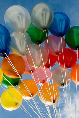 Balloons - p451m949634 by Anja Weber-Decker