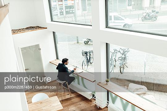 Schöneberg, Berlin, Deutschland, M41, Business, Lockdown, Coworkingplace, Frühling, - p300m2287459 von Gustafsson