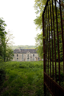 Old French Châteaux in Normandy  - p1072m828817 by Brian Korteling
