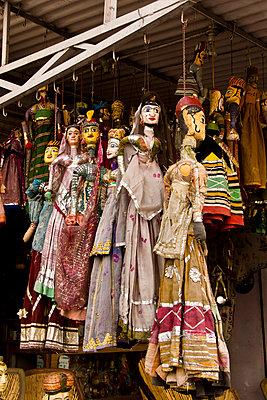 Marionetten - p162m763131 von Beate Bussenius