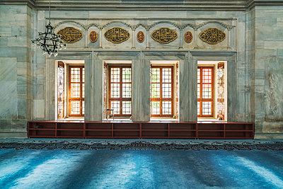 Interior of Bayezid II Mosque, Istanbul, Turkey - p343m2032328 by Tamboly Photodesign