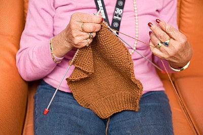 Knitting needle - p6430166 by senior images