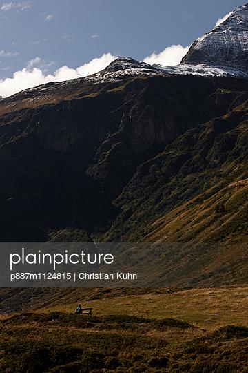 Berge - p887m1124815 von Christian Kuhn