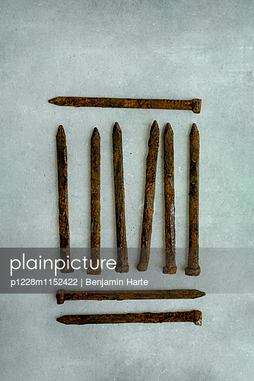 Rusty nails - p1228m1152422 by Benjamin Harte