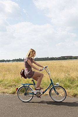 Folding bike - p294m1069511 by Paolo