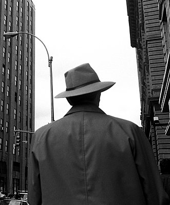 Man in New York - p8700023 by Gilles Rigoulet