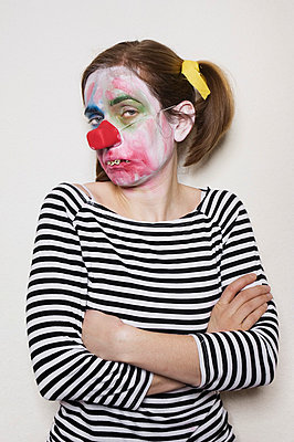 Clownin - p3580445 von Frank Muckenheim