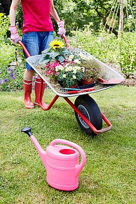 Gartenzeit - p464m1147203 von Elektrons 08
