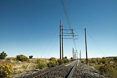 Bahnübergang in Süd Colorado - p1525m2087264 von Hergen Schimpf