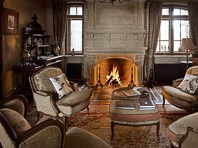 Noble living-room - p3900329 by Frank Herfort