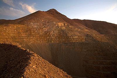 Open cast mine Chile - p6180167 by Capturaimages