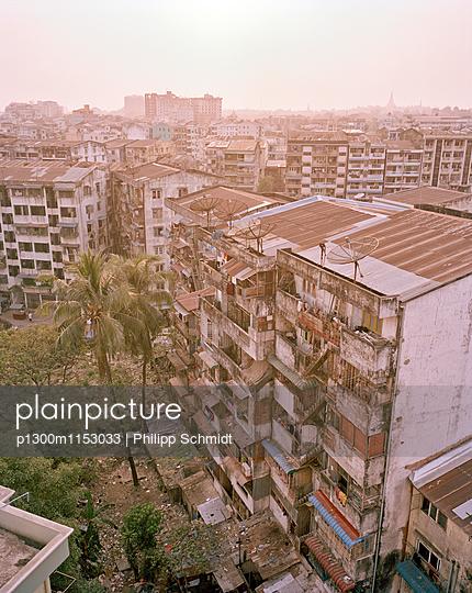 Stadtansicht Yangon - p1300m1153033 von Philipp Schmidt