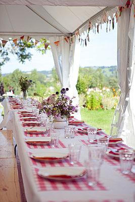 Festlicher Tisch - p1195m984743 von Kathrin Brunnhofer