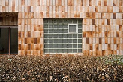 Brown tiles - p3600058 by Ralf Brocke