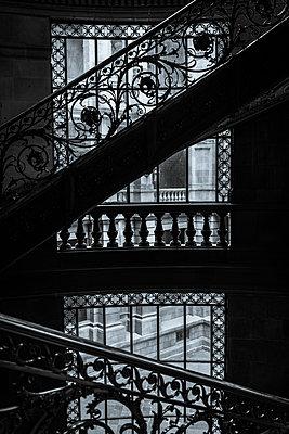 Ornate banisters  - p1170m1584913 by Bjanka Kadic