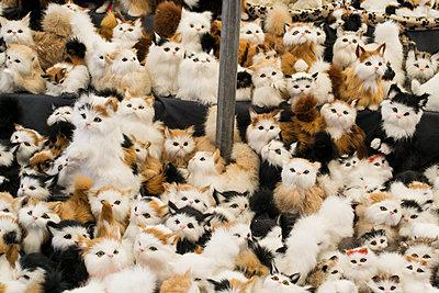 Katzen aus Pelz - p1199m1496997 von Claudia Jestremski