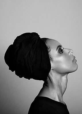 Portrait of F (III) - p1323m1158789 by Sarah Toure