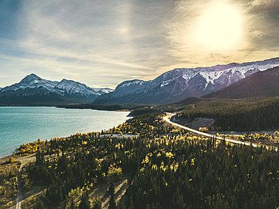 Abraham Lake in Kanada - p1455m1574484 von Ingmar Wein