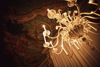 Chandelier in Palazzo - p600m2076875 by Laura Stevens
