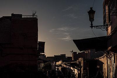 Abendstimmung in Marrakesch - p1243m1516710 von Archer