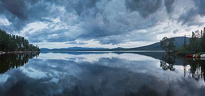 Lake in Jamtland, Sweden - p352m1536562 by Calle Artmark