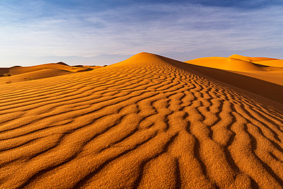 Ripples in sand dunes, Sahara Desert, Morocco, North Africa, Africa - p871m2209269 by Ed Rhodes
