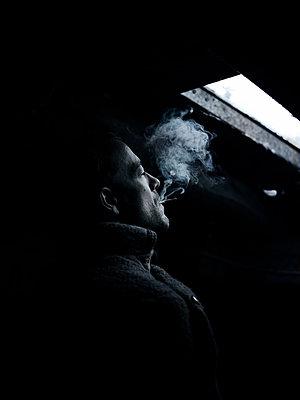 Man in the attic - p945m2093607 by aurelia frey